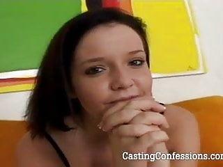 Amateur porn jobs 19 yo emma is cast for first porn job