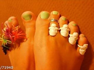 Fetish fantasy halloween ball 2009 Halloween feet soles toe rings