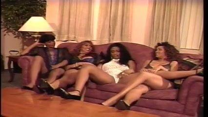 90s Lesbian Orgy