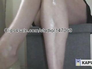 Calf sucking dick torture Calf jiggling 2
