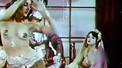 EXOTIC SLAVE GIRL DANCE - vintage harem striptease