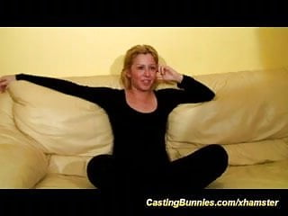 Free fisting video auditions - Her first anal casting video