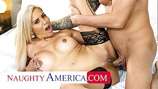 Naughty America - Caitlin Bell fucks her friend's husband