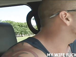 Wife watches husband fuck another guy Watching my wife fuck another guy was really hot