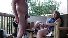 Check My MILF outdoor masturbation