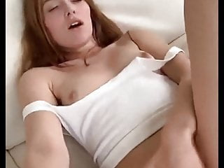 Girl orgasms on her face The look on her face