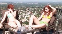 2 Horny Bikini Girls are Bored