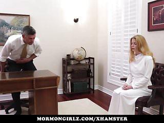 Senior masturbation and the catholic church Mormongirlz - red head exploited at church