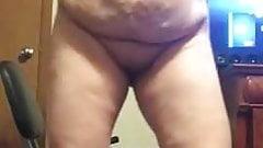 BBW Granny Showing Off