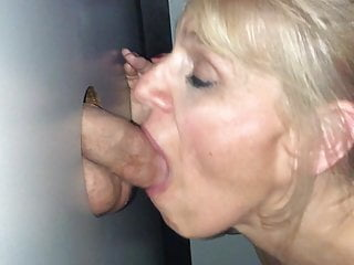 Man nipples slut sucking - Glory hole slut sucks another nice cock