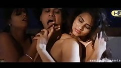 Indian threesome - two women with one Man