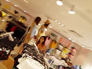 Nude body shop models Candid voyeur gorgeous thin model shopping cheeks out