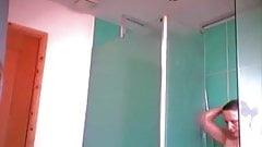 Milf hidden shower