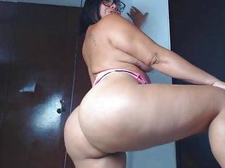 Up the ass dildo - Bbw latina takes bbc up the ass