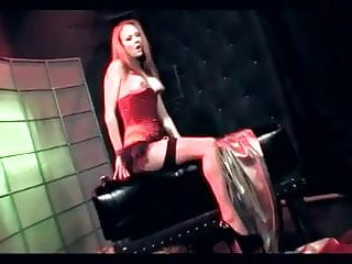 Sheer nude redhead videos Audrey dped in sheer stockings and a garter belt