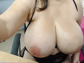 Huge chubby boobs Voluptuous huge boobs chubby camgirl