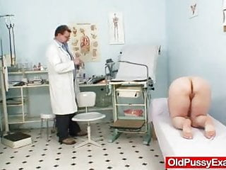 Amsterdam fetish medical clinic - Busty grandmother ruzena visits gyno fetish clinic