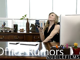 Office slut porn Nubilefilms - office slut fucked till she squirts
