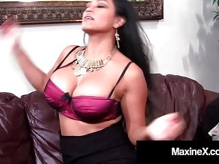 X video young huge dick Cambodian queen maxine-x gets ass fucked by huge black dick