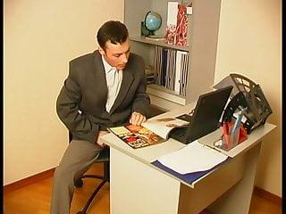 Pantyhose office girl Strap on pantyhose office lady 1
