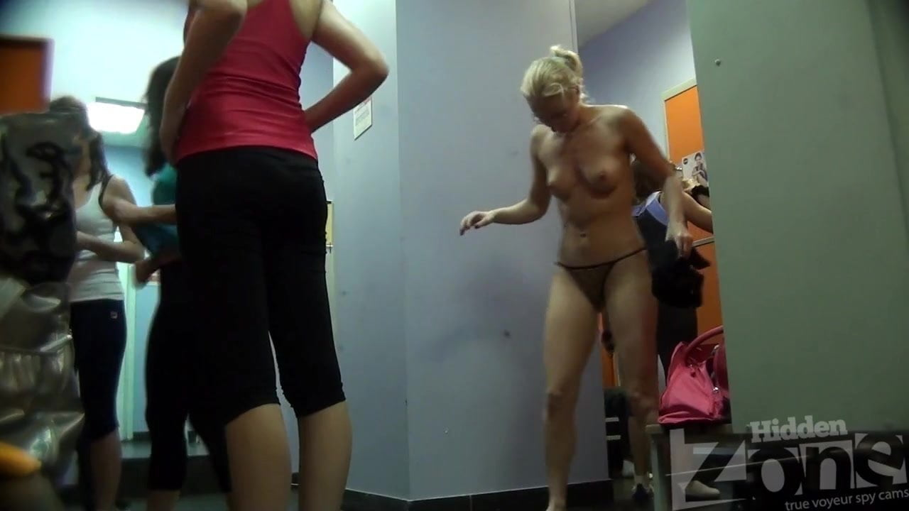Public Locker Room Fuck