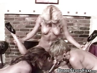 Video spanked and fingered - Dykes moan as they are spanked and fucked using fingers