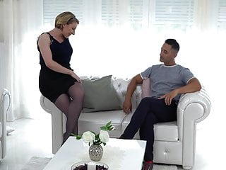 Mom sex stockings Lovely mom gets rough anal sex from fuck boy