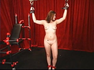 Spank her young ass - Master ties up young angelina and spanks her ass hard with a whip