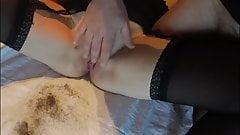 Stepbrother Helps Stepsister Shaving her Pussy