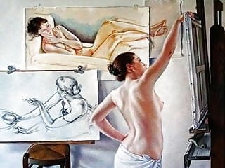 Gallery erotic arts cartoon - Sensual erotic art of francine van hove