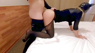 After the party my BF fucked me hard!