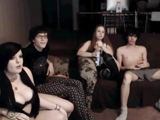 Gay couple sex cam shows - 2 bisexual couples cam show
