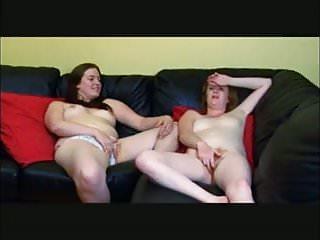 Straight Girls Masturbating Together