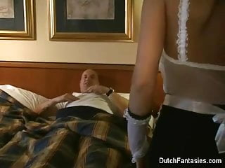 Jo guest hardcore freeones Dutch maid fucks hotel room guest