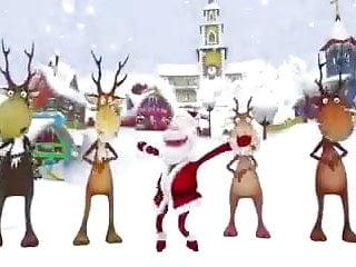 Sexy christmas cartoon - Christmas crazy dance