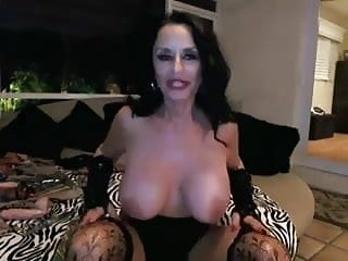 Weird sex - Weird horny granny toying on webcam