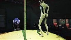Fallout 4 - sexy pole dance (autor: bergamhot)