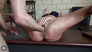 Lyna Cypher – French milf ANAL