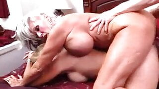 Clitorissa's adulation of a horny threesome