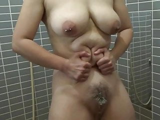 Elmer sex Elmers wife anal milk, cream, cola enema 3