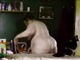Spank me its my birthday - Ugly wife krissy fucks me on my 53rd birthday