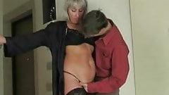 Milf seduces young boy