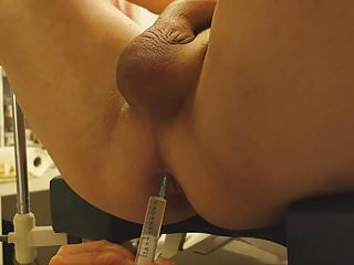 Intracytoplasmin sperm injections - Huge load, anal injection, fisting, super nurse part 4 of 2