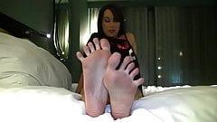 Brianna's Size 10 Feet