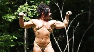 Muscle woman nude