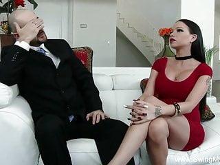 Sharing new slut moms - Tattoo slut swinger wife fucks a new man