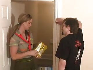 Gay girl scout - Another damn girl scout jerking wf