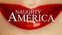 Hotwifing Aidra Fox gets creampied hard - Naughty America