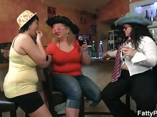 Porn tube fat chicks Three dudes have fun with fat chicks