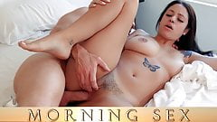 Morning Sex: Raven Maddoxx and Laz Fyre
